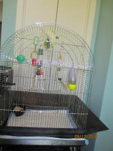 Grosse cage d oiseaux Jovaco