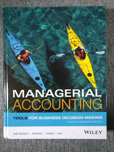 Concordia COMM 305 Managerial Accounting textbook
