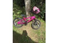 Girls pink Avigo mountain bike