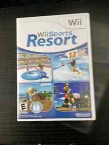 Wii Sports Resort , great Wii game, complete in box with manu