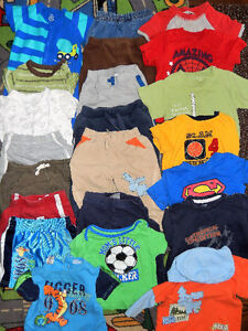 Lot of 22 items - Baby BOY clothes - 12 to 18 months old