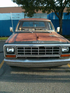 1981 Dodge Other Pickups D150 Club Cab Pickup Truck