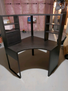 Micke desk and Ikea chair