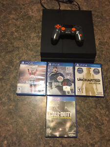 Playstation 4 + games