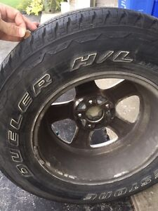 225/70 R16 All Season Tires on Alloys  London Ontario image 2