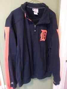 Detroit Tigers Majestic Zip up