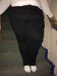 Torrid laced up jeans