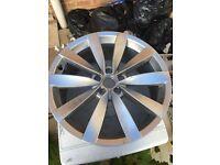 Volkswagen scirocco alloy wheel