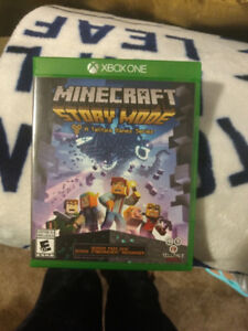 Minecraft Story Mode Game for Xbox one