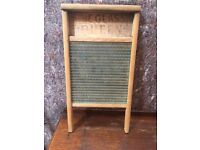 "Antique Washboard "" The Glass Queen """
