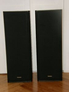 Technics SB-A33 Speakers (Twin Woofer)