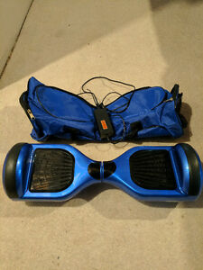 Hoverboard Electric Blue balance board segway with carrying bag London Ontario image 1
