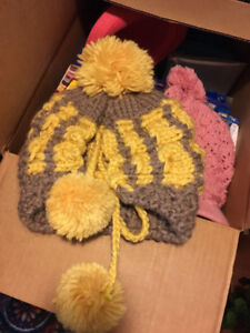Warm winter hats (brand new never used)
