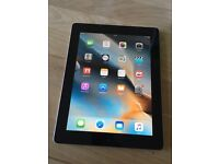 32GB Apple iPad 2 with 3G unlocked and warranty receipt