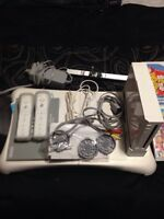 Nintendo wii console  and games in new conditions