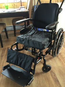 Orion reclining wheelchair with Roho air cushion