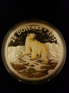 $20 Polar Bear coin - Royal Canadian Mint