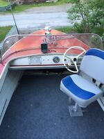 14 Ft. Starcraft boat with 60 HP Outboard