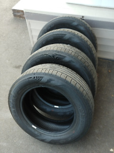 4 Goodyear Assurance Tires, good condition 215/60R16