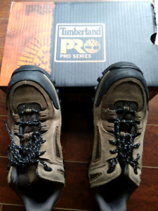 Timberland Pro steel toe safety shoes woman size 8
