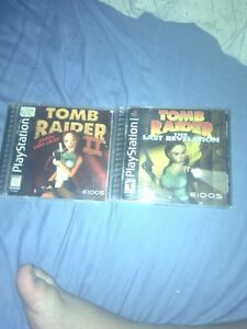 Tomb raider bundle PlayStation 1
