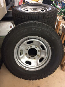 REDUCED!  Arctic Claw Winter XSI M + S Tires on Rims