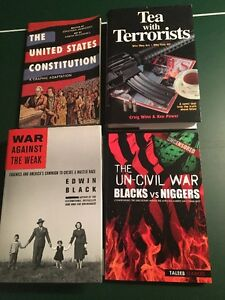 4 BOOKS -WAR - RACE -