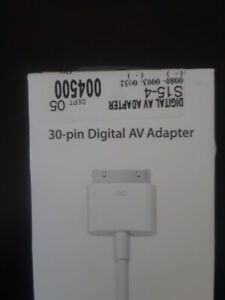 30 pin ipad accessory cables