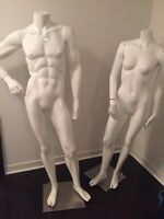 Female & Male Fashion Mannequins