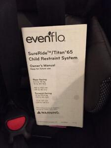 Evenflo Car Seats SureRide/Titan 65