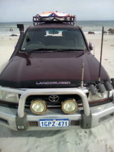 LandCruiser 100 Series Touring Weapon
