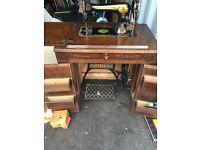 Singer sewing machine unit.