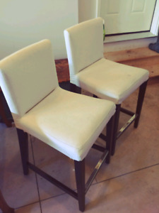 """Counter Stools """"Henriksdal"""" by Ikea"""