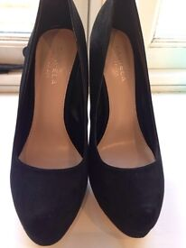 Carvela Black Suede high heels