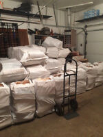 6 HUGE Bags of Pine + 1 bag Kindle + Free Delivery ** $150