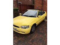Ford escort cabriolet 1.8si 1995