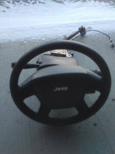 2008, 2009, 2010 Jeep Patriot SUV Full Steering Wheel Column
