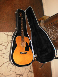 Ibanez Model 62 Acoustic guitar with custom case