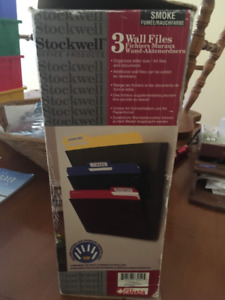 Stockwell 3 Wall Files Holder