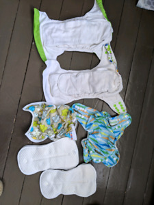 Four cloth diapers - $20 for the set