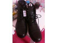 mens new boots never tried on