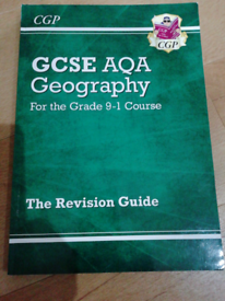 Set of 3 CGP AQA Geography For the Grade 9 - 1 Course Books