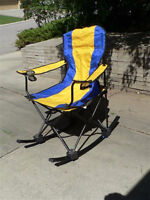 two folding chairs for sale