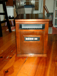 Duraflame Infrared Portable Cabinet Heater