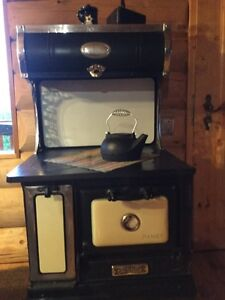 antique cook stove