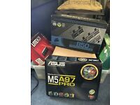 Ultimate Gaming Pc tower AMD Black Edition AMD Phenom 11 and monitor