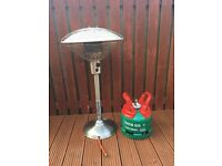 Table top gas patio heater
