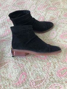 TWO PAIRS COLE HAAN  ANKLE BOOTS