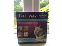 Feliway cat diffuser - nearly new