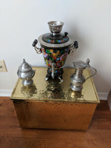 Samovar for coffee or tea